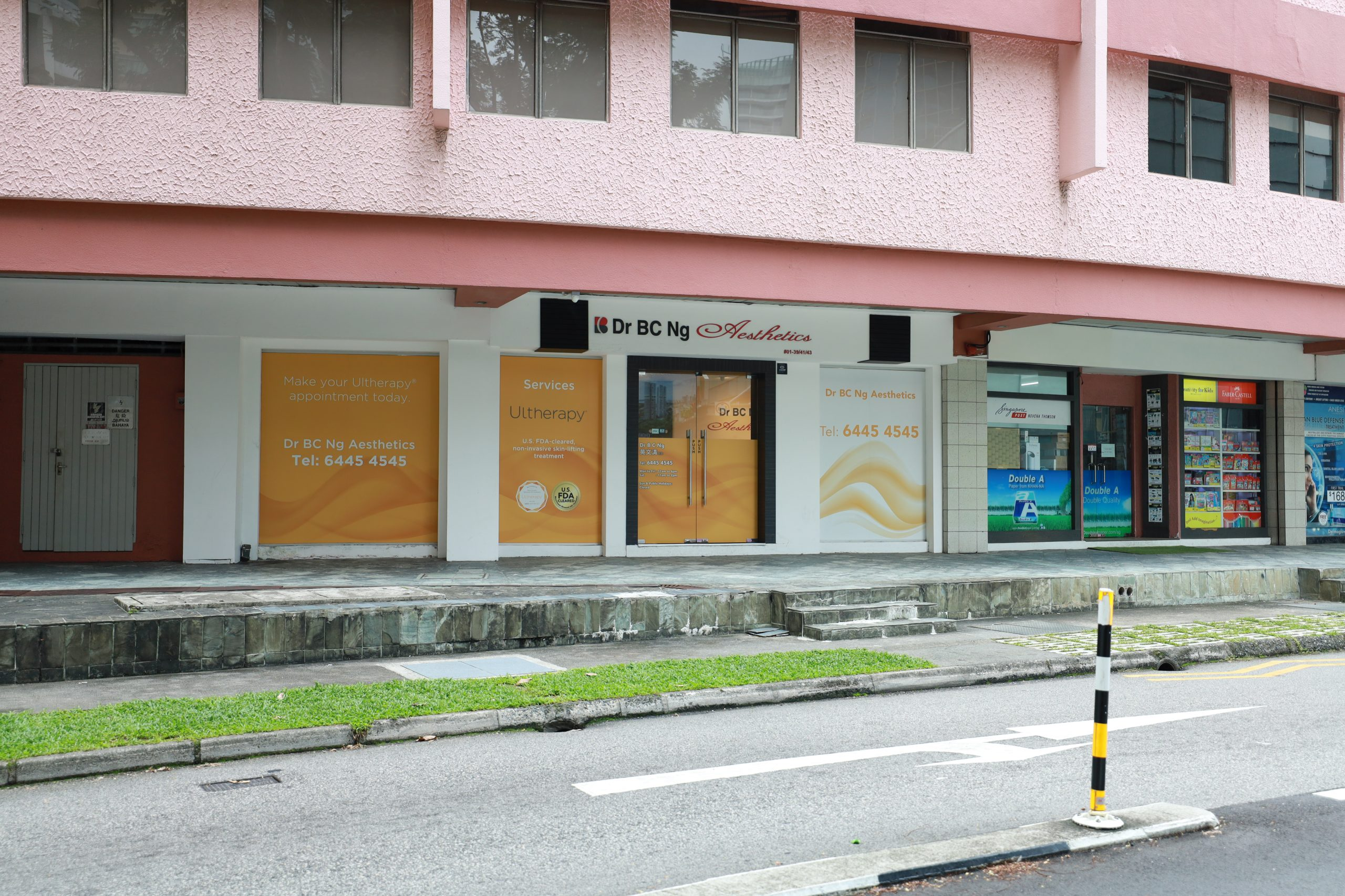DR BCNG Aesthetics Clinic Front
